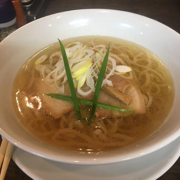 「塩ラーメン」@手打ち麺 やす田の写真