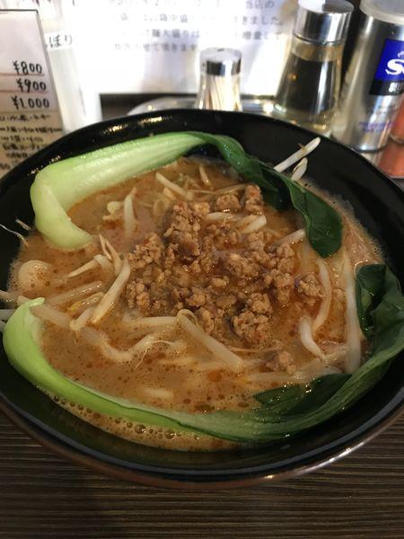 「鶏白担々麺」@麺や雫の写真