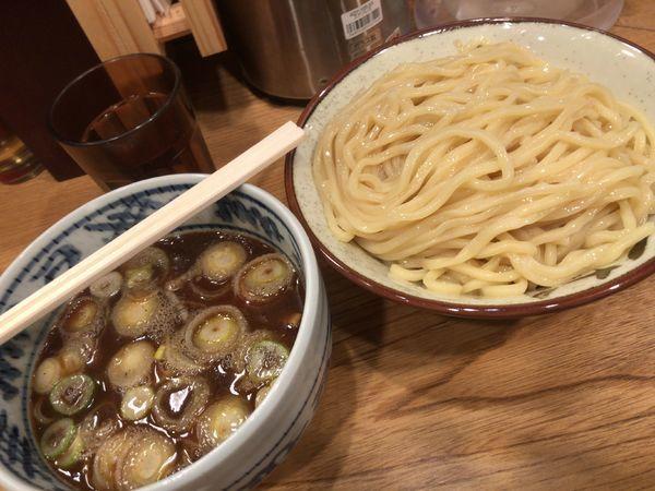 「江戸前 つけ麺 中盛り」@江戸前つけ麺 サスケの写真