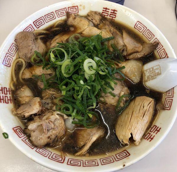 「中華そば 肉多め」@新福菜館 天神川店の写真