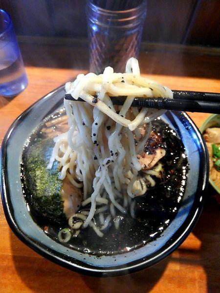 「黒熟成」@麺や 虎ノ道の写真