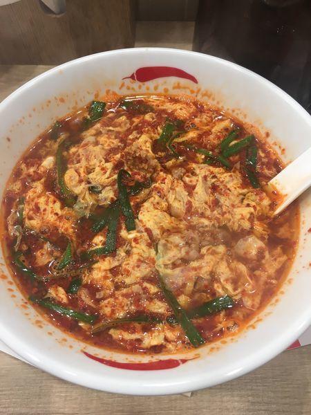 「辛麺(5辛)」@辛麺屋 一輪 池袋店の写真