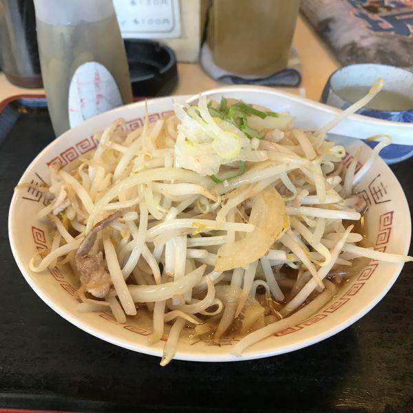 「もやしラーメン(¥280)」@食事処 禅の写真