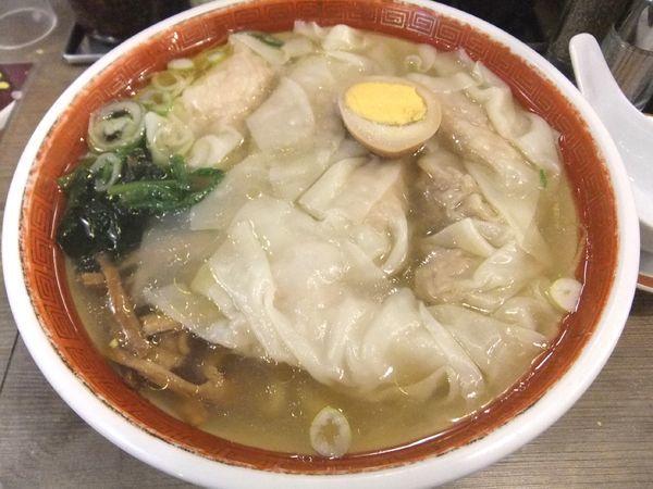 「清湯海老雲吞麺(塩)(853円)」@広州市場 高円寺店の写真