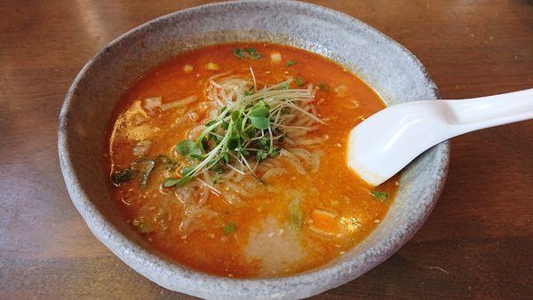 「担々麺@900円」@KitchenGarden 輪舞の写真