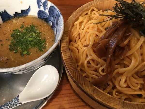 「豚塩つけ麺特盛」@麺屋 湯や軒の写真