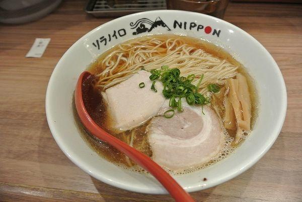 「朝煮干 680円」@ソラノイロ NIPPONの写真