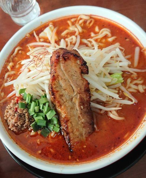 「しびれベトコンラーメン@800円」@ラーメン・つけ麺 爆王の写真