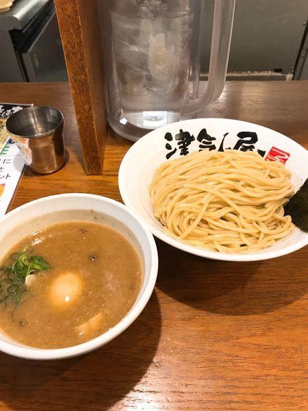「味玉つけ麺」@つけ麺津気屋 武蔵浦和の写真