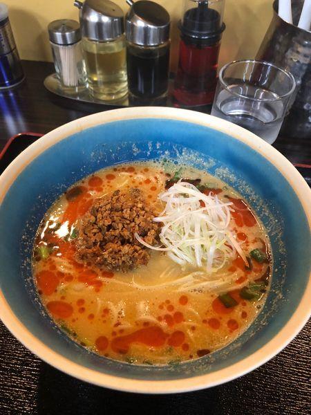 「担々麺830円」@中華そば 一富士の写真