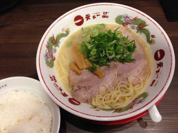 「大盛りライス定食(屋台の味)」@天下一品 上野アメ横店の写真