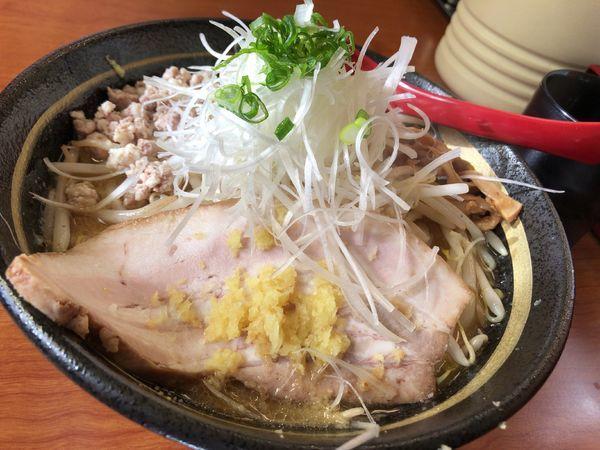 「味噌ガッツ麺」@らーめん 味噌ガッツ お花茶屋店の写真