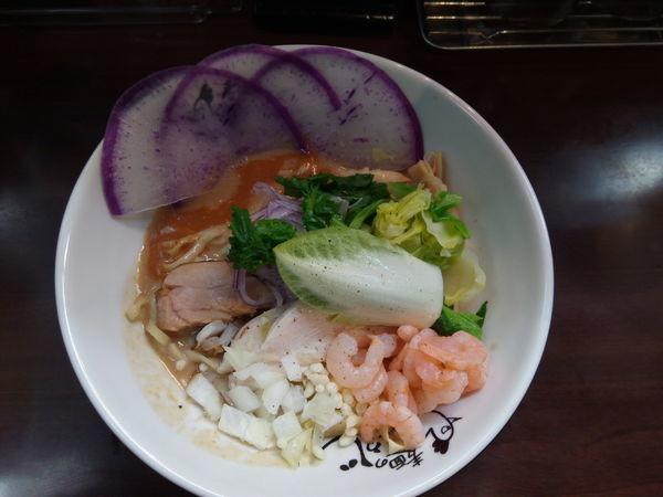 「【限定】オマール海老のまぜそば」@麺のようじの写真