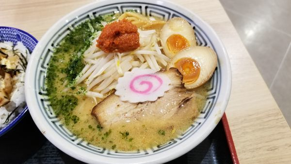 「からし味噌味玉らーめん」@ちゃーしゅうや武蔵 イオン南松本店の写真