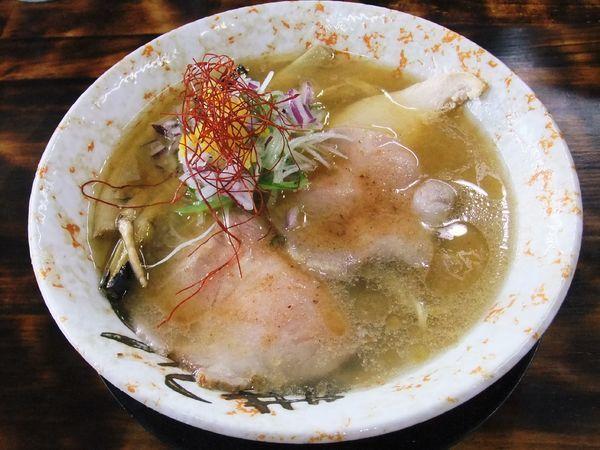 「蟹塩そば(750円)」@麺屋 裕の写真