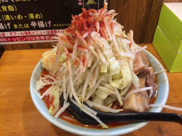 「ファイヤー麺3辛(野菜増しニンニク)」@郎郎郎 八王子店の写真