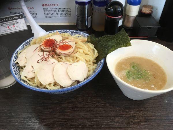 「濃厚鶏白湯つけ麺」@麺匠なべすけの写真
