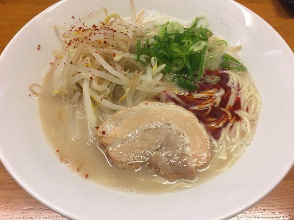 「赤カラらーめん:690円」@麺屋 一の写真