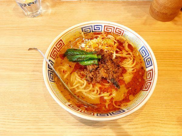 「担々麺」@ほっこり中華そば もつけの写真