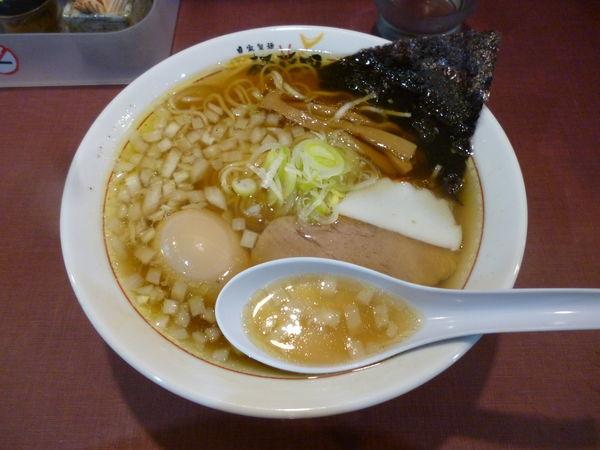 「味玉ラーメン」@麺藤田の写真