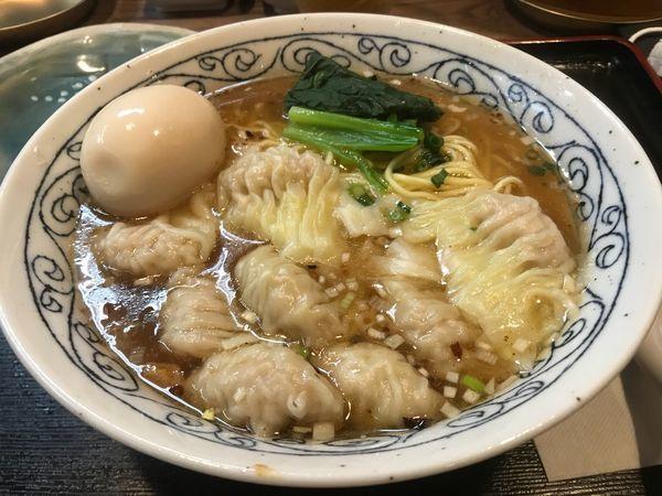 「雲呑麺」@FUKU ROKU JYU 福禄寿の写真