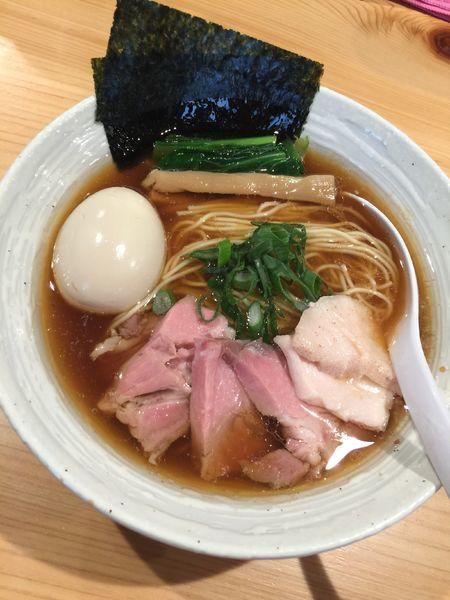 「特製らぁめん(醤油)」@麺屋 さくら井の写真