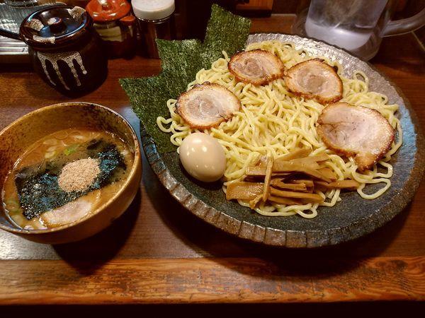 「特製つけ麺(大盛・400)1,000円」@つけ麺屋 ひまわりの写真