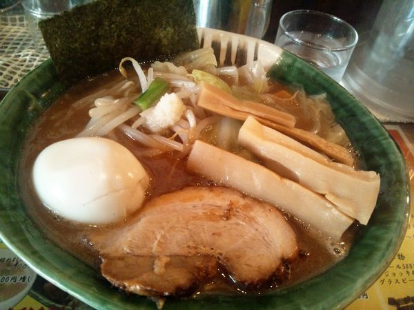 「野菜がっつり麺+燻製味玉」@麺や 璃宮の写真