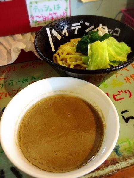 「つけ麺(大盛り)¥650」@つけ麺屋 丸孫商店の写真
