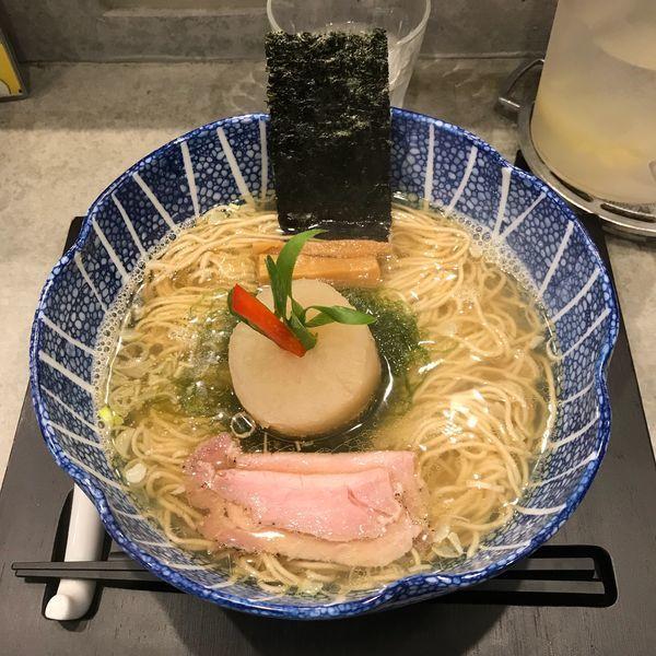 「海 魚海香る 塩そば」@ソバダイニング クワトロの写真
