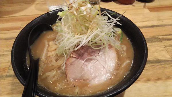 「ネギ味噌ラーメン ¥930」@ぼっけもんの写真