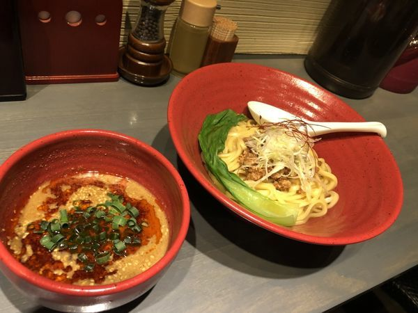 「坦々つけ麺」@つけ麺専門 百の輔の写真