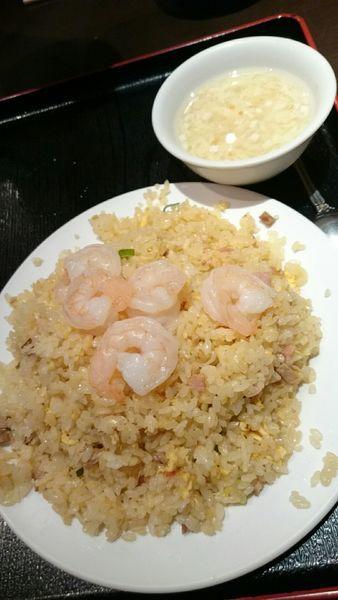 「エビ炒飯  680円」@台湾料理 天福の写真