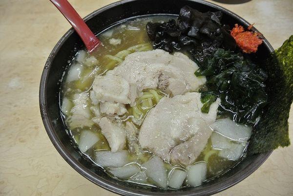 「ラーメン790円 麺硬め」@イレブンフーズ  源流の写真