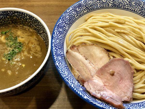 「極濃煮干しつけ麺(大)」@煮干しつけ麺 宮元の写真