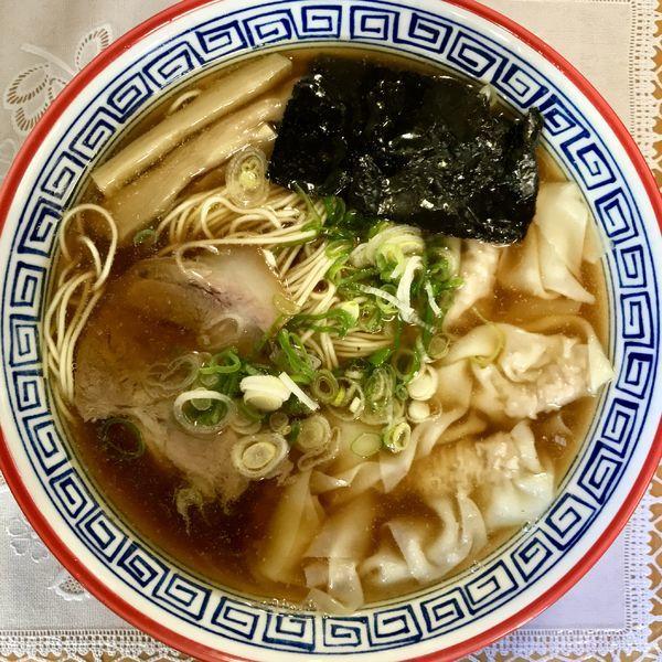 「ワンタンメン ¥1030円」@麺処 ら塾の写真