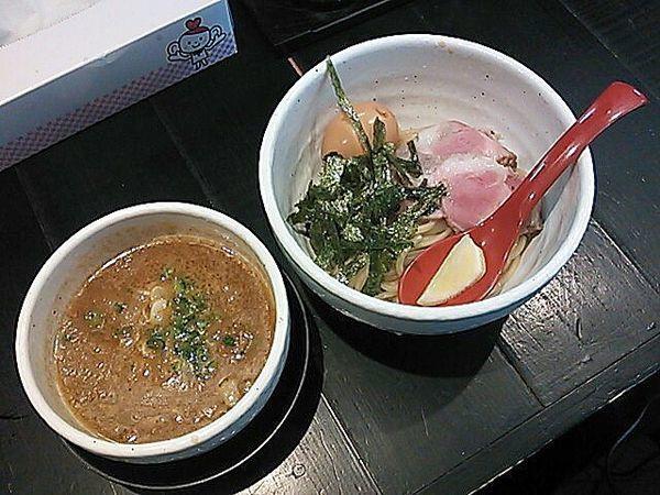 「「特製牛モツつけ麺」(並)」@蔵木 松山店の写真