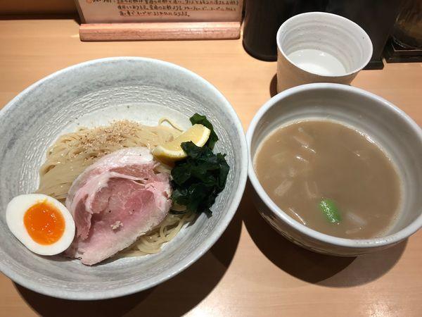 「塩つけ麺」@らーめん道の塩の写真