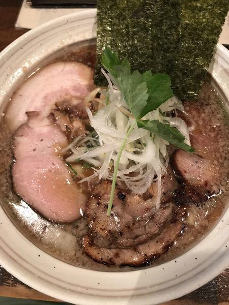 「煮干しラーメン、大盛り」@日本橋 製麺庵 なな蓮の写真