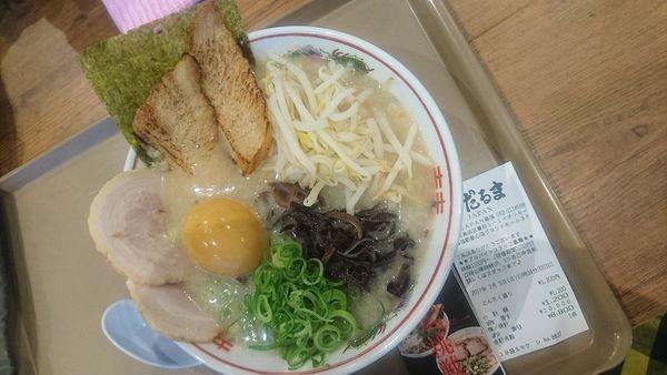 「あぶりトロチャーシュー麺」@博多だるまJAPAN イオンモール幕張新都心店の写真