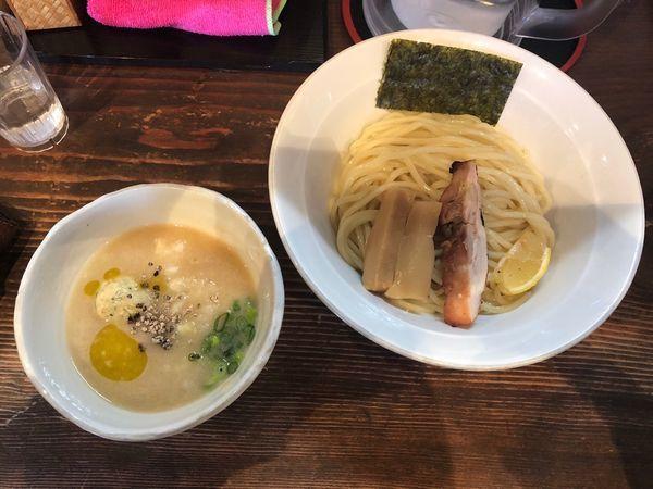 「鶏白湯つけめん」@麺屋たつみ 喜心 秩父店の写真
