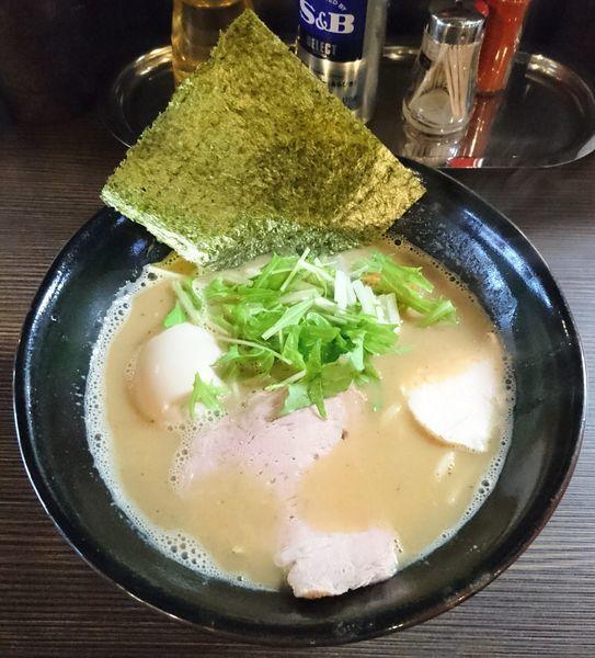 「味玉ラーメン」@麺や雫の写真