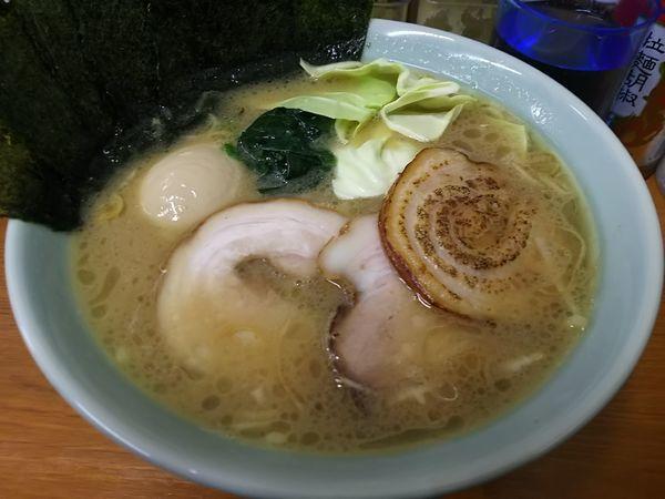 「【限定】限定ラーメン531 :醤油豚骨 ※㋗で700円」@ラーメン くじら家の写真
