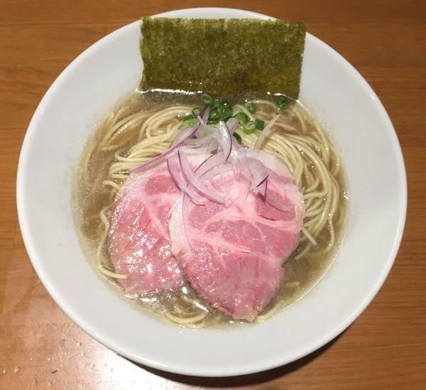 「煮干中華蕎麦750円他」@亀戸煮干中華蕎麦 つきひの写真