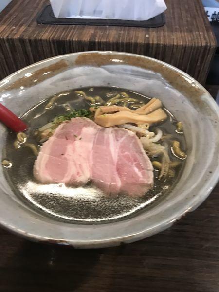 「黒味噌らーめん」@味噌専門麺屋大河の写真