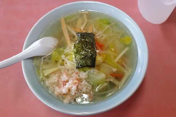 「塩野菜カニラーメン 1,050円」@かにのミフネの写真