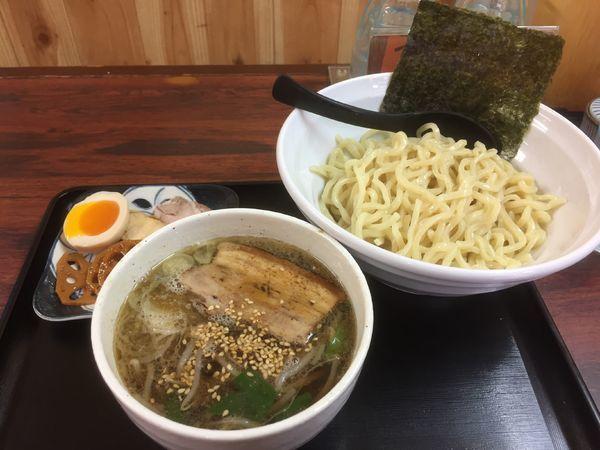 「白つけ麺」@くい紋の写真