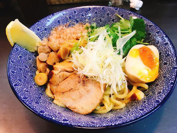 「魚介油そば」@らーめん やまふじスープ工房 東三国店の写真