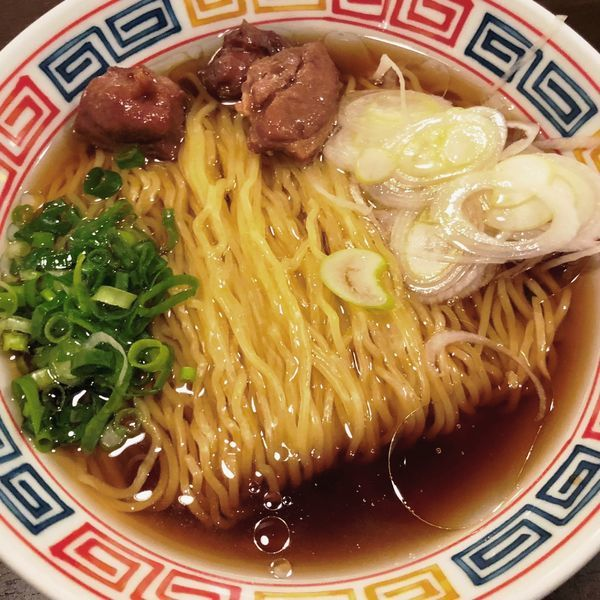 「昭和の素ラーメン」@拉麺 時代遅れの写真