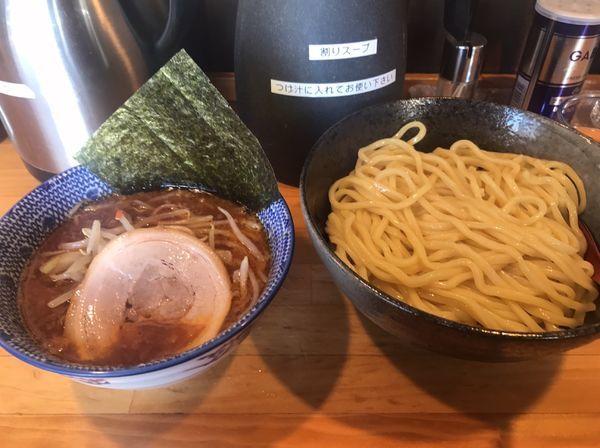 「辛つけ麺」@麺屋くぼたの写真